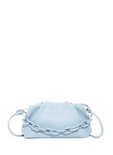 Mavi Turuncu Çapraz Çanta Mavi